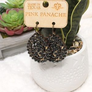 Pink Panache earrings